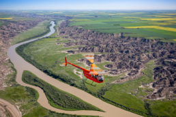 R44 Helicopter Drumheller